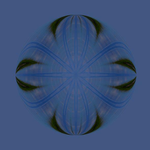 waterglass pool BLUE 185