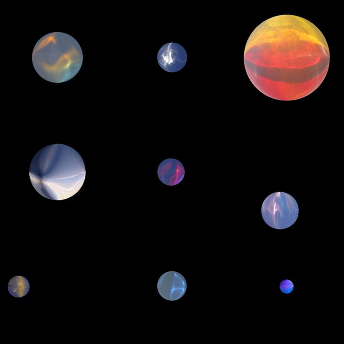 SHADOWS OF THE SUN ~ light planets