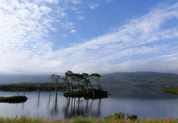 Early morning on Loch Assynt by Lochinver. Scotland is full of positive surprises.